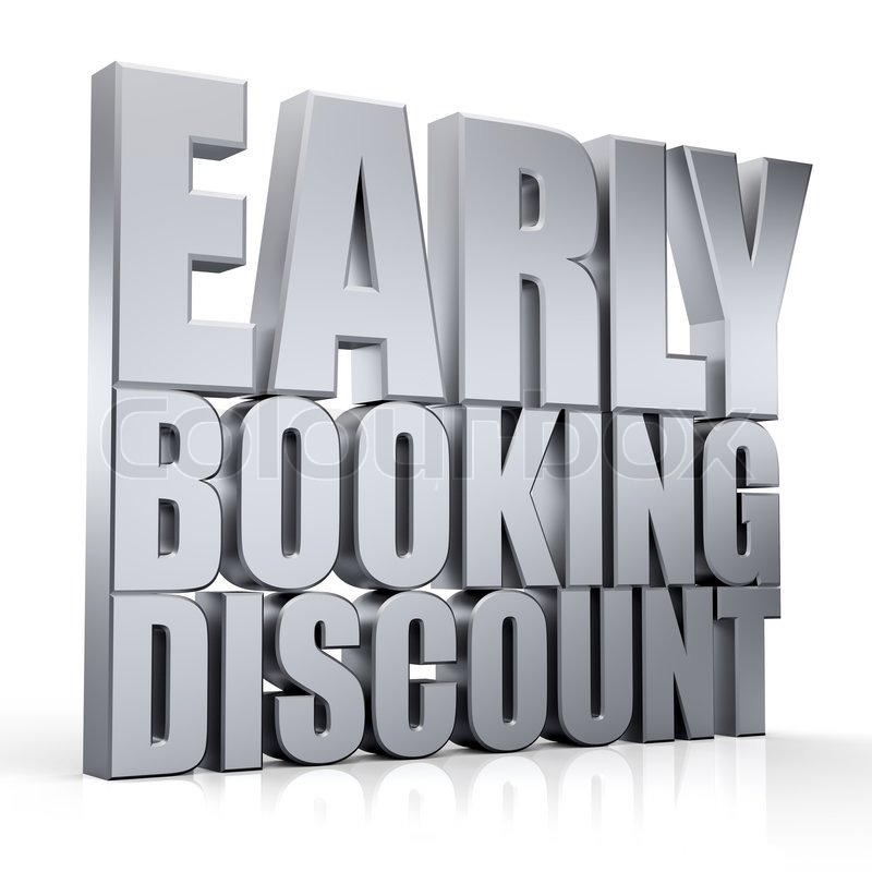 Early Booking Discount %15